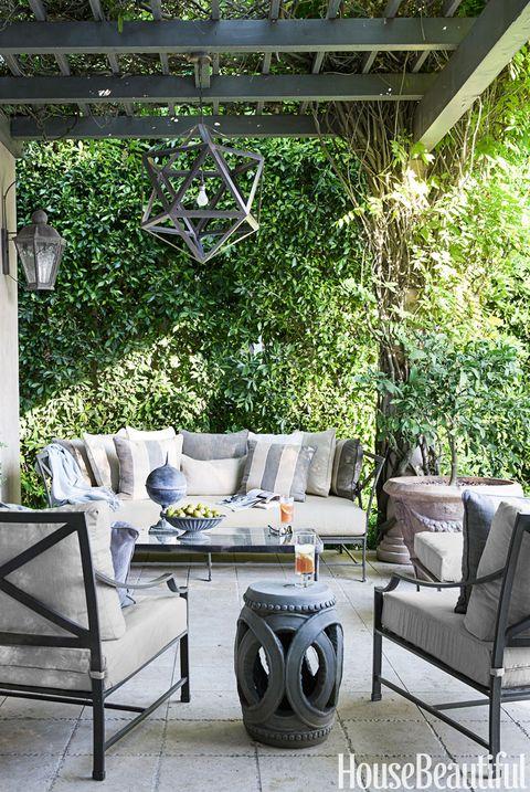 Gray Outdoor Room