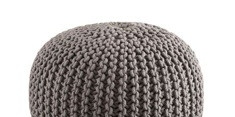 keyword hawley pouf wayfair ottoman knit melange cable