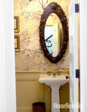 Powder Room Decorating Ideas Powder Room Design And Pictures - Powder bathroom ideas