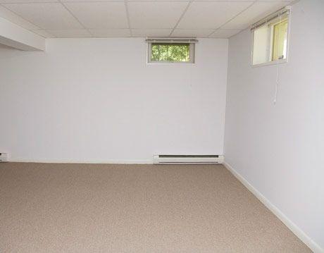 a standard basement