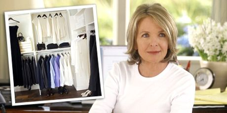 diane keaton actress in movie with closet picture