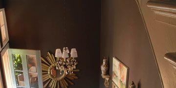 brown foyer