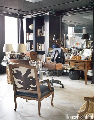 Designing A Home Office belgrado home office 63 Best Home Office Decorating Ideas Design Photos Of Home Offices House Beautiful