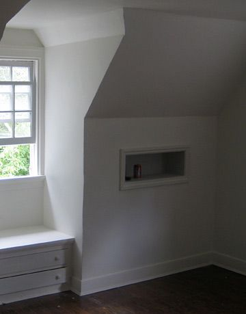 before makeover in a bedroom