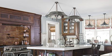 An Old-Fashioned Farmhouse Kitchen with Modern Touches