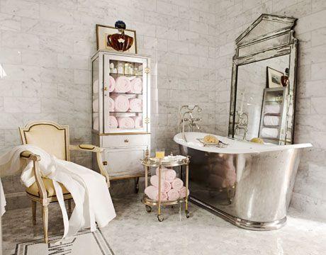 an antique bathroom & French Bathroom Style - French Bathroom Decor