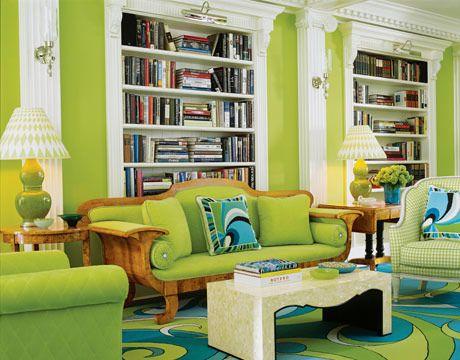 green living room designs.  Green Decorating Ideas Room Design Photos