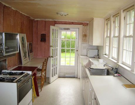 before the makeover of a kitchen