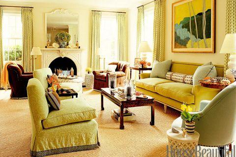 Light Green Living Room