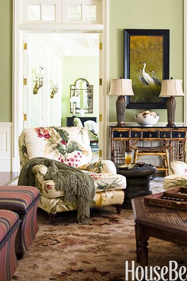 10 Best Green Living Rooms - Ideas for Green Living Rooms