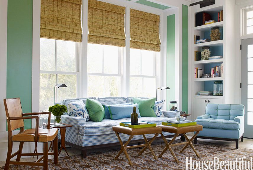 Green Living Rooms in 2016 Ideas for