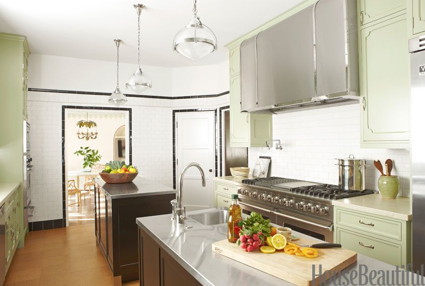 Green Kitchens Ideas For Green Kitchen Design - Green kitchen accessories ideas