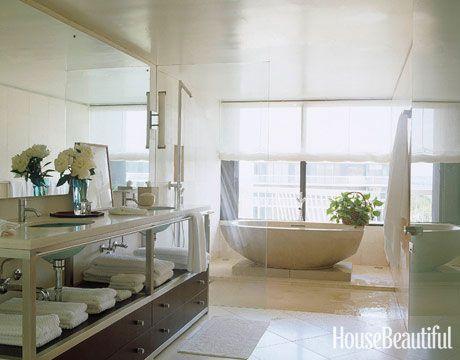 12 White Bathroom Ideas - Decorating White Bathrooms on bathtub sizes, old world style bathrooms design, bathtub surrounds, bathtub soaking tub freestanding, bathtub storage, bathtub drain, bathtub faucets, bathtub reglazing, bathtub sink, bathtub handicap bathroom, bathtub corner tub, bathtub remodel, bathtub construction, bathtub spa whirlpool bath tub, bathtub cartoon bath, bathtub overflow, bathtub painting, bathtub plumbing, bathtub prices of walk-in tubs, bathtub showers,