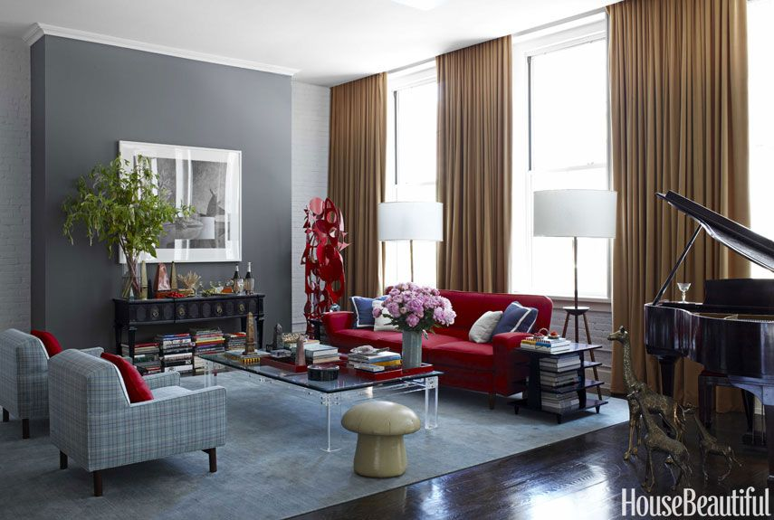 Gray Living Room Ideas Pleasing 10 Stylish Gray Living Room Ideas  Decorating Living Rooms With Gray Design Inspiration