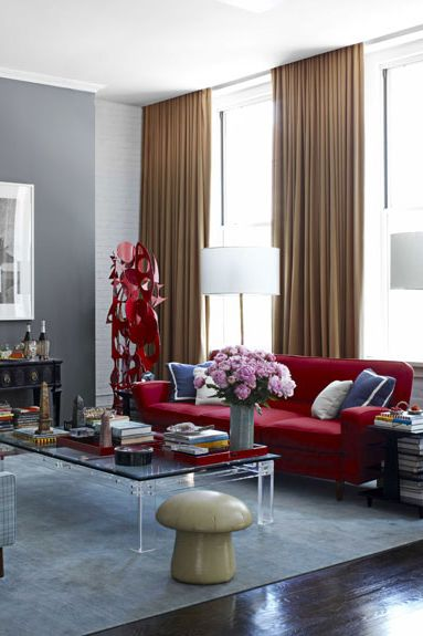 35 Stylish Gray Rooms - Decorating with Gray