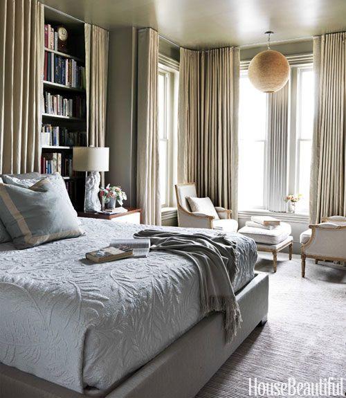 13 Best Gray Bedroom Ideas - Decorating Pictures of Gray Bedroom ...