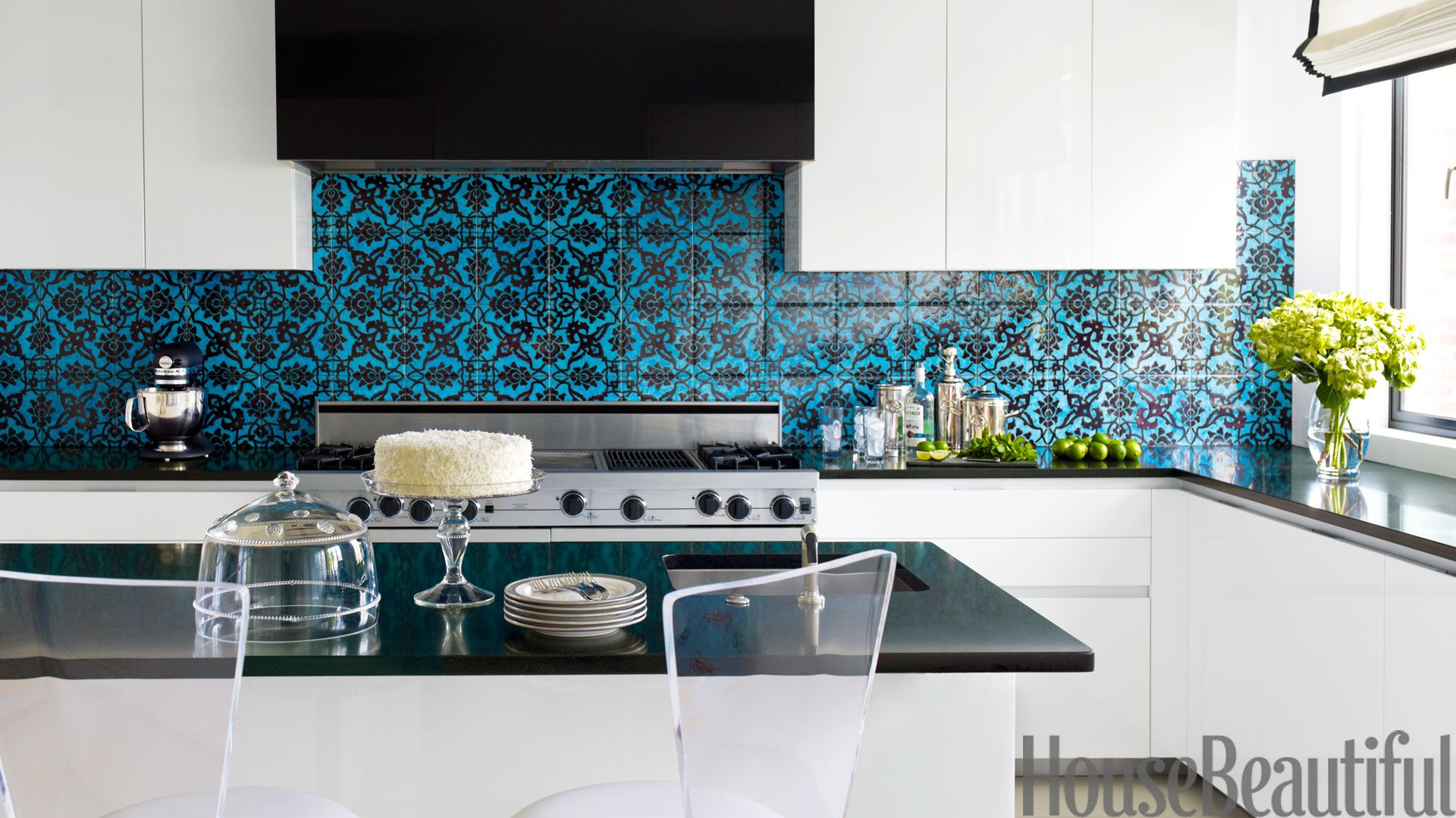 Wonderful Fun Backsplash Ideas Part - 6: 53 Best Kitchen Backsplash Ideas - Tile Designs For Kitchen Backsplashes