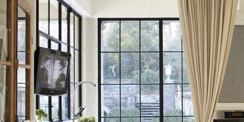 Interior Curtain Decorating Idea - House Beautiful Pinterest ...
