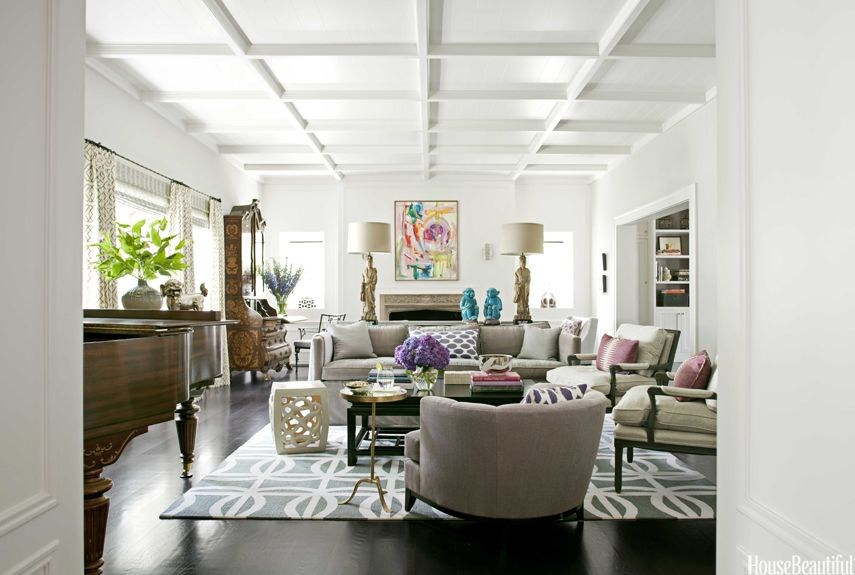 Living Room Interior Design Pinterest Beverly Hills Living Room  House Beautiful Pinterest Favorite .