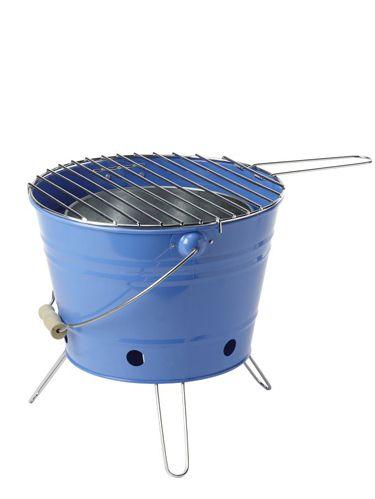 blue bbq grill