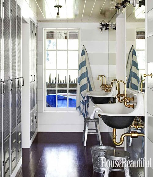 Nautical Home Decor - Ideas for Decorating Nautical Rooms - House Beautiful & Nautical Home Decor - Ideas for Decorating Nautical Rooms - House ...