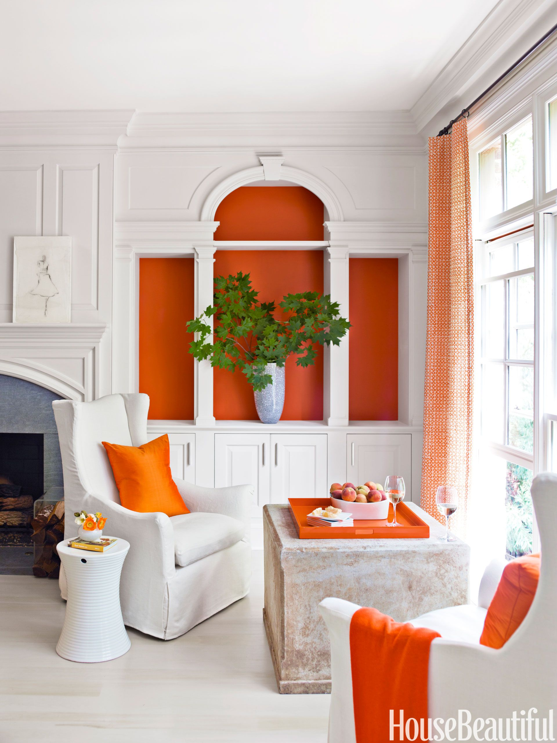 orange living room design bedroom design new in home decorating ideas