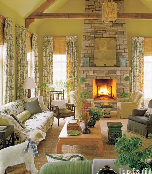 Living Room With Fireplace Entrancing Cozy Fireplaces  Fireplace Decorating Ideas Design Inspiration