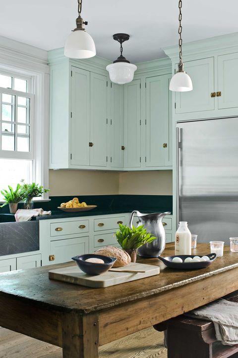 15 Best Green Kitchens - Ideas for Green Kitchen Design