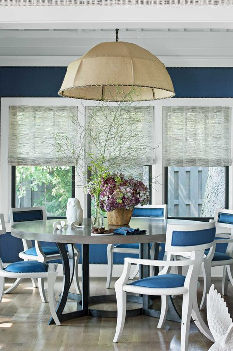 Dining Room James Merrell Classic Blue