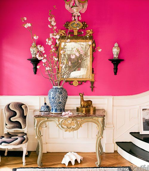 Colorful Entryways - Paint Colors for Foyer