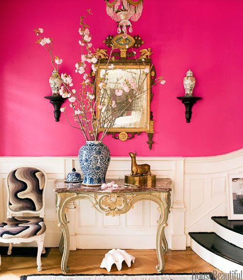Ikat Roman Shade - House Beautiful Pinterest Favorite Pins April 26 ...
