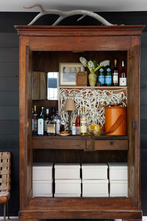 Wooden Barmoire