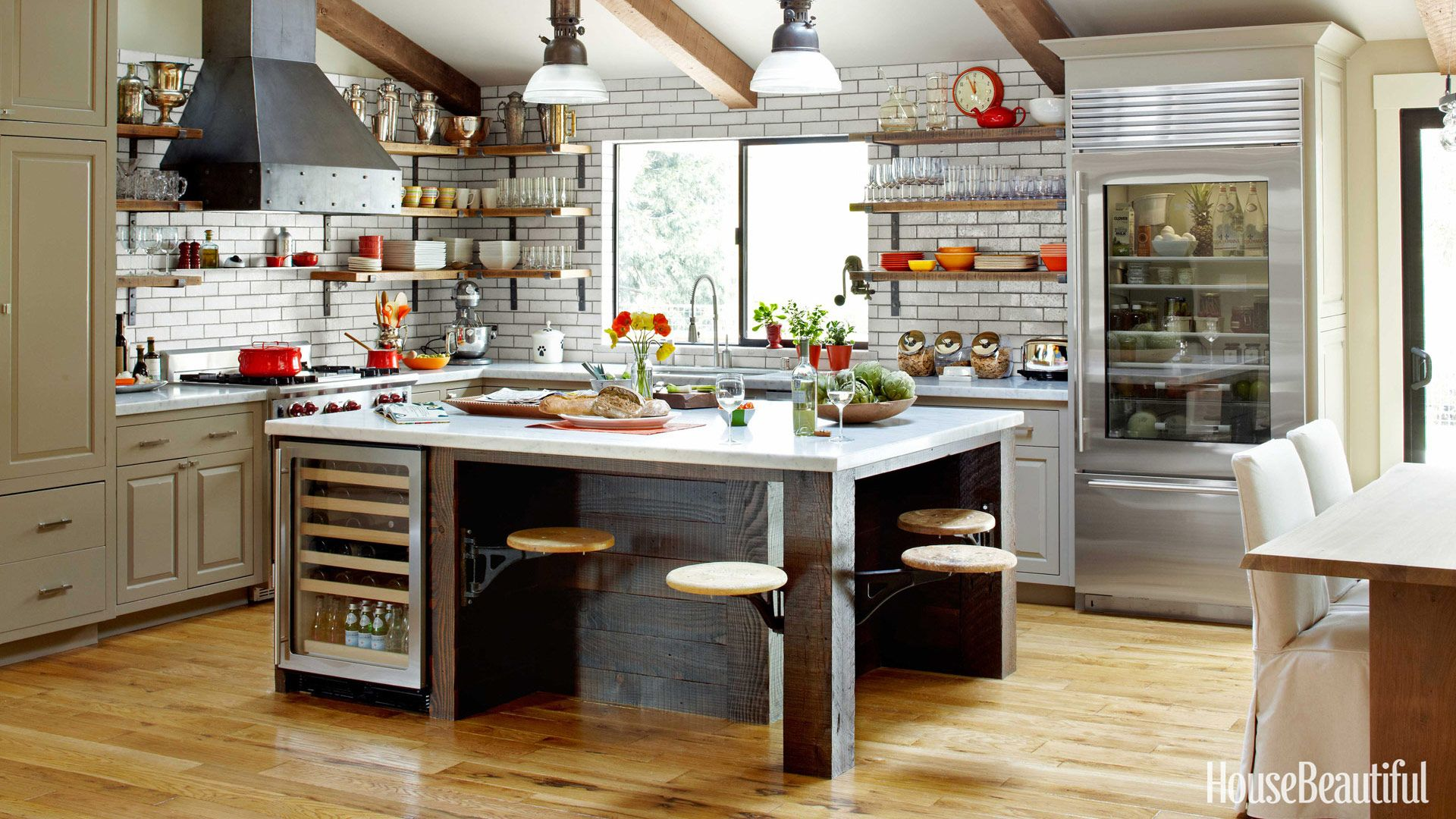 Steel Kitchen Design - Industrial Kitchen Design Ideas