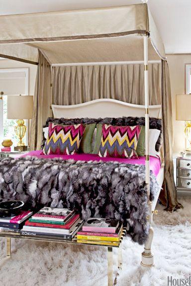 fur blanket and rug