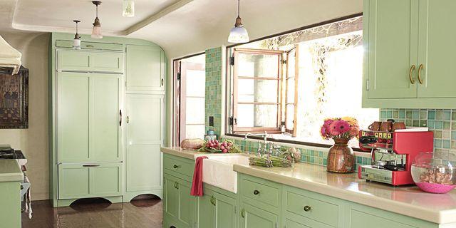 Mint Green Kitchen House Beautiful Pinterest Favorite Pins