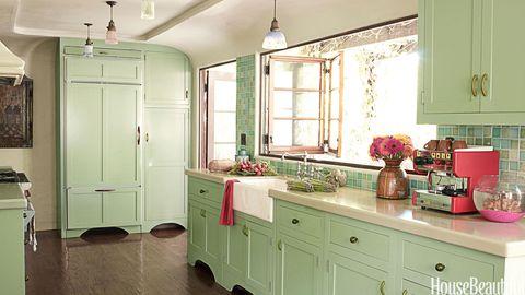 Mint Green Kitchen - House Beautiful Pinterest Favorite Pins October ...