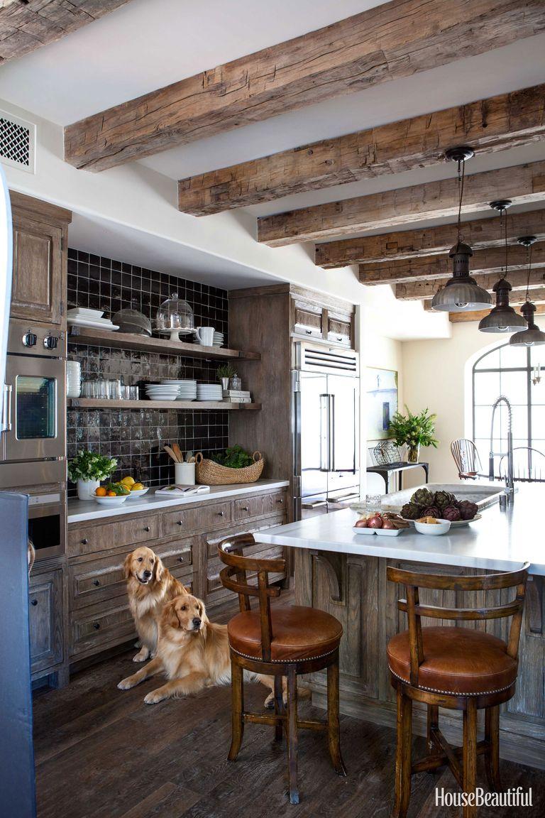 30 Amazing Design Ideas For A Kitchen Backsplash: Chris Barrett Design