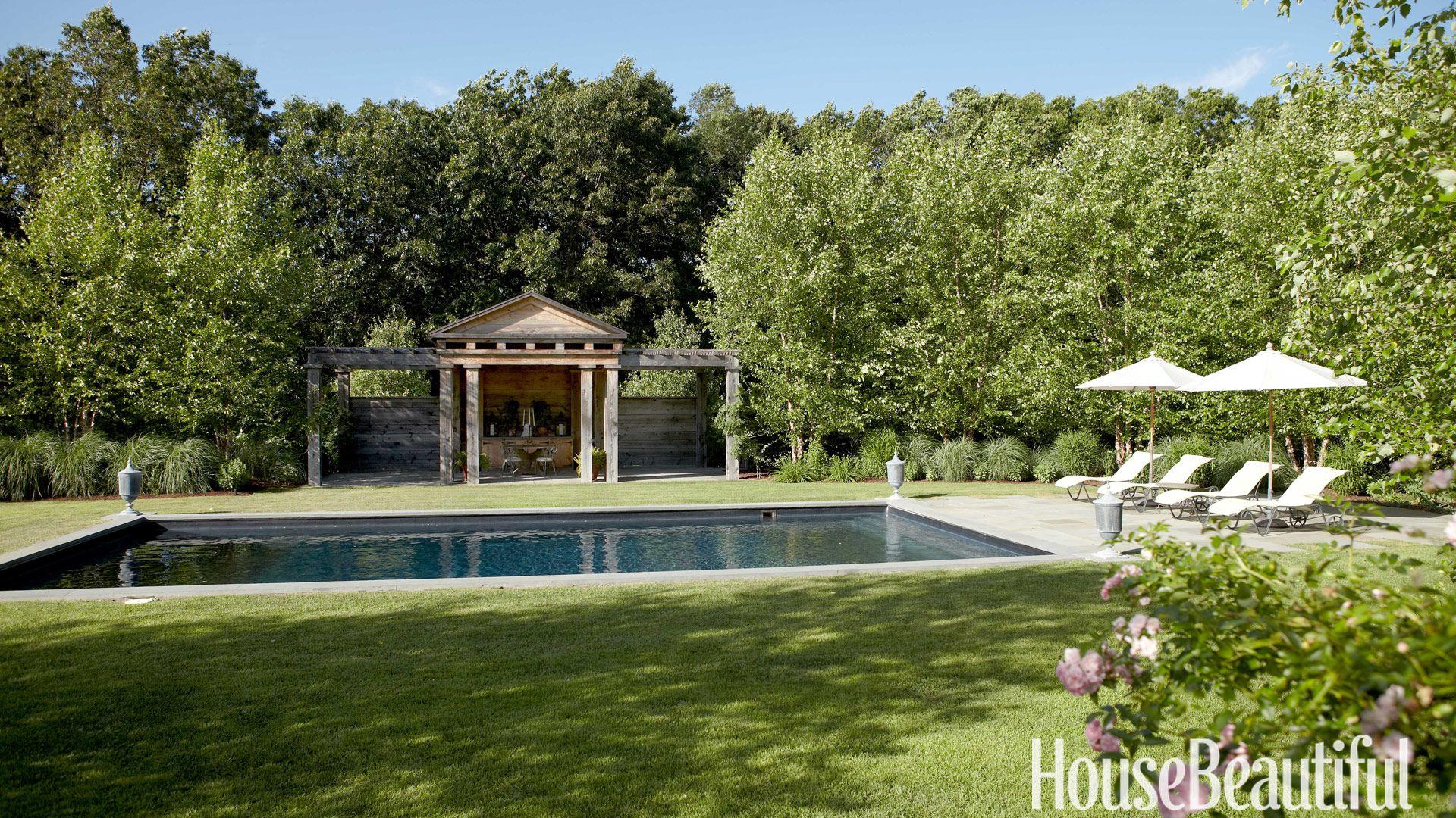wood pergola & 52 Beautiful Landscaping Ideas - Best Backyard Landscape Design Pictures