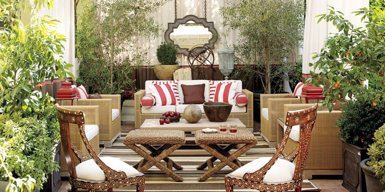 10 outdoor decorating ideas outdoor home decor for Patio accessories ideas