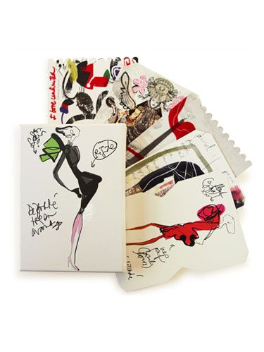 christian lacroix postcards