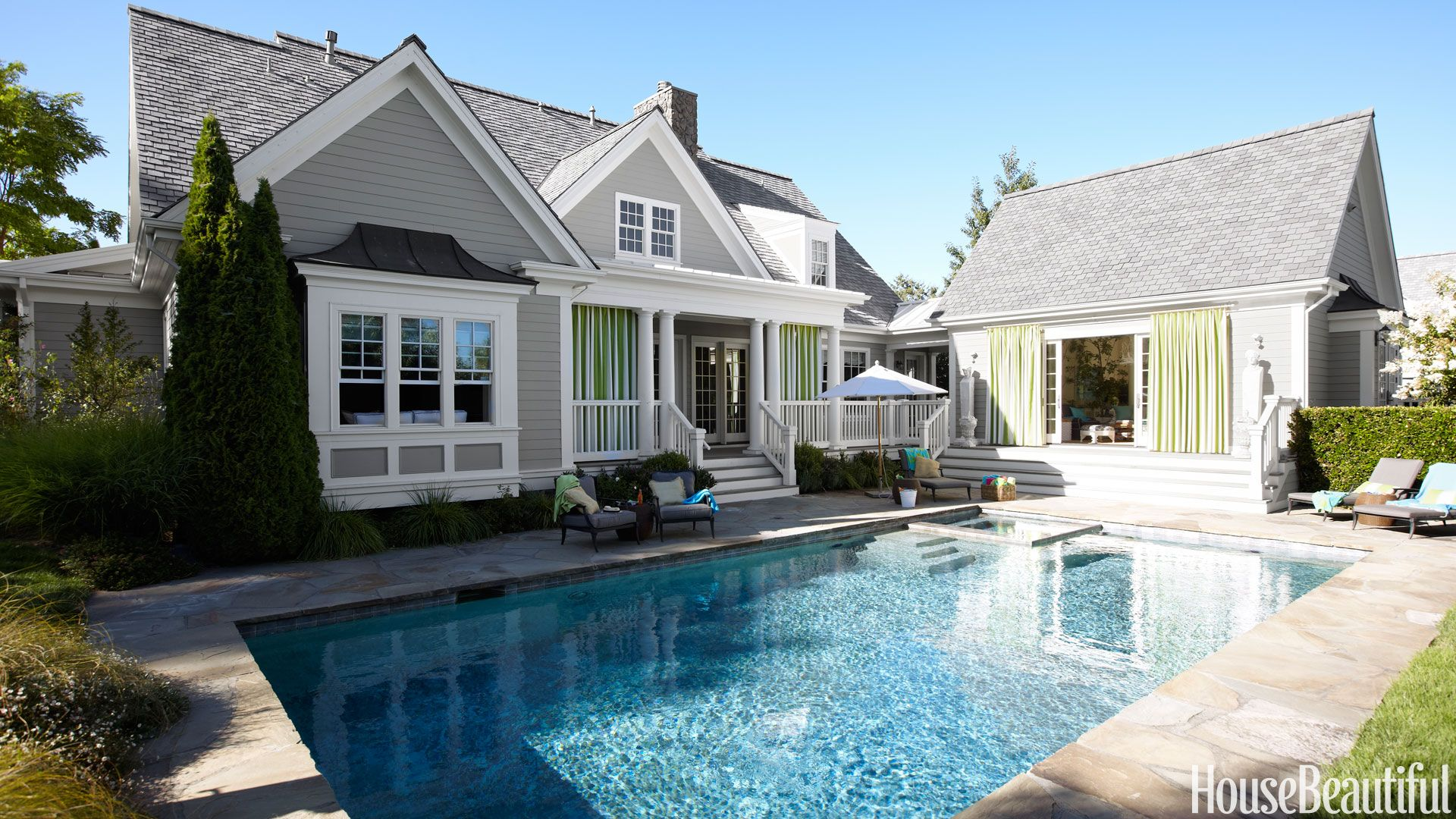 40 pool designs ideas for beautiful swimming pools - Outdoor Backyard Pools