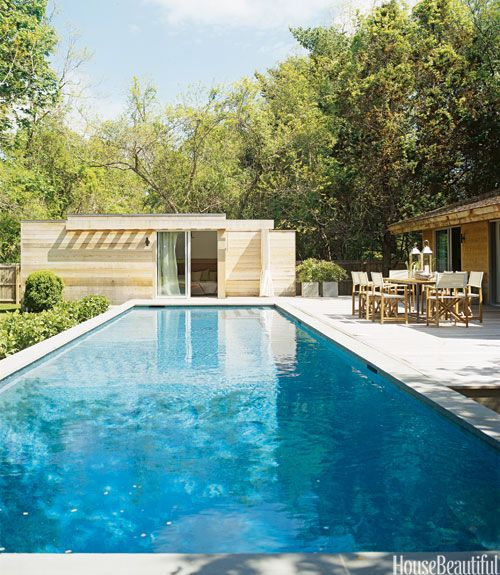 17 Pool Designs - Ideas for Beautiful Swimming Pools Guest Pool House Designs Mid Century Html on
