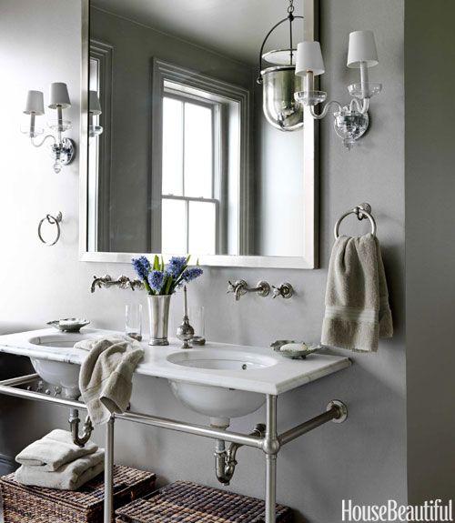 Www.housebeautiful.com Glamorous 25 Small Bathroom Design Ideas  Small Bathroom Solutions Design Decoration