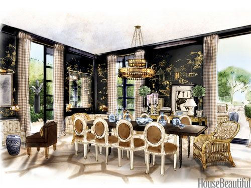 Room Design Sketch Interior Designer Sketches