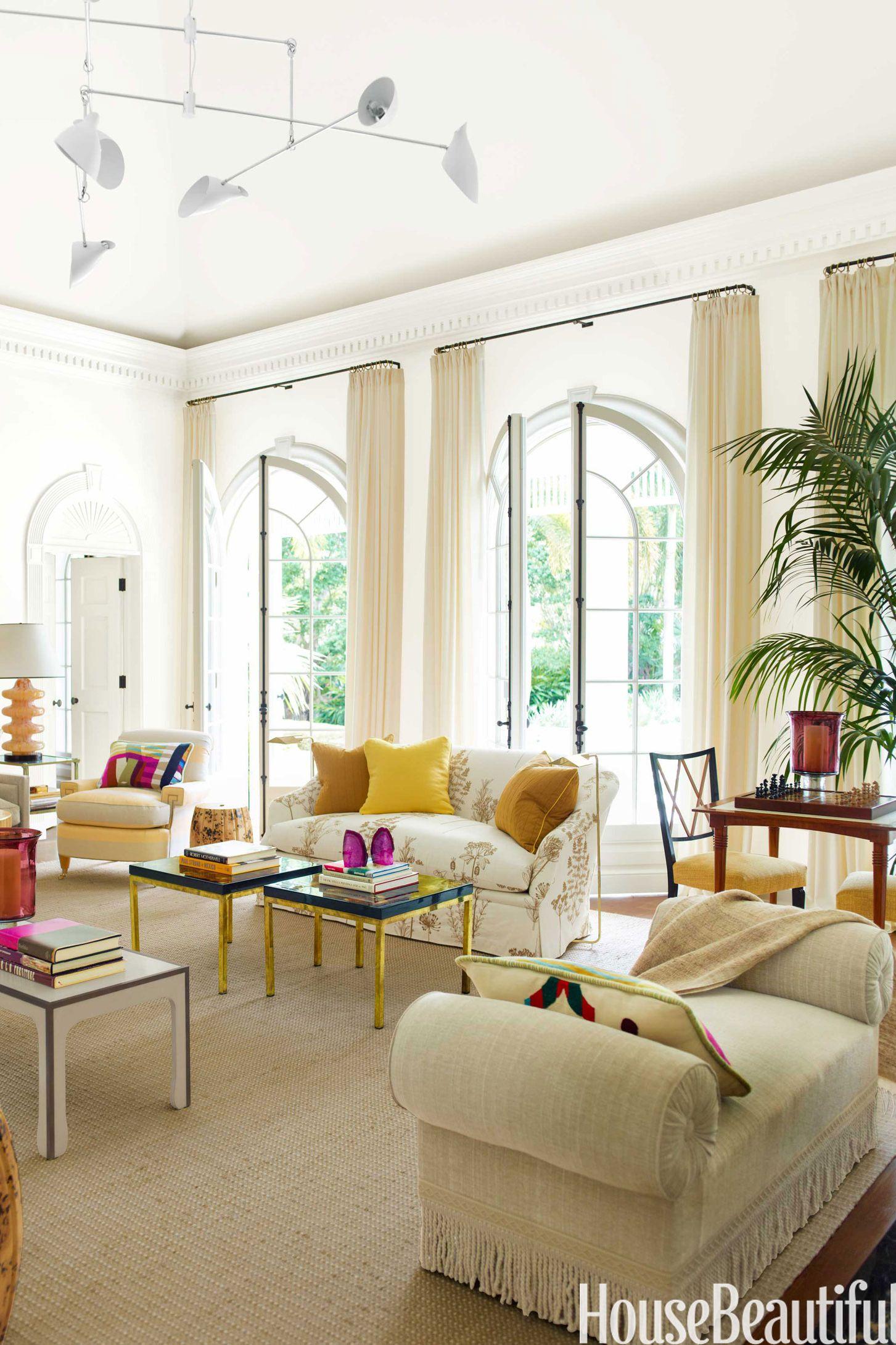 10+ White Living Room Ideas