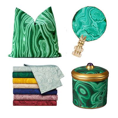Top 5 Blog Posts of the Week:Malachite Decor, a Wall Decorating Idea, and More