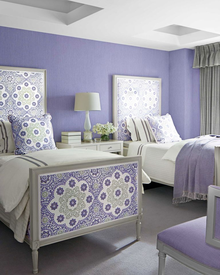 Purple Room Designs: Lavender And Lilac Bedroom Decor