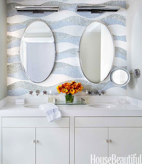 Bathroom Tile Design Ideas Tile Backsplash And Floor Designs - Cool bathroom tile ideas