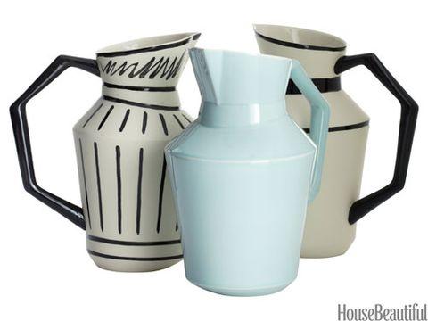 caraffa porcellana pitchers