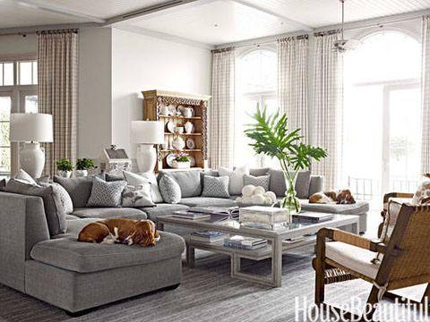 Gray Chenille Sofa Francesco Lagnese Family Room